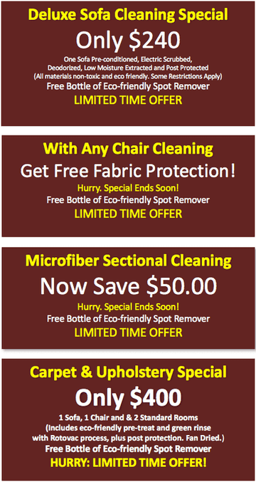 Upholstery Cleaning for Brookline and surrounding MA areas.