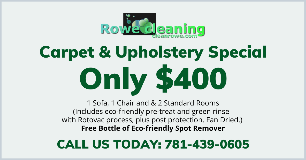 Carpet Cleaning for Ipswich and surrounding MA areas.