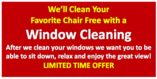 Window Cleaning for Wakefield and surrounding MA areas.